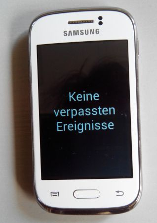 Samsung Galaxy Young weiss