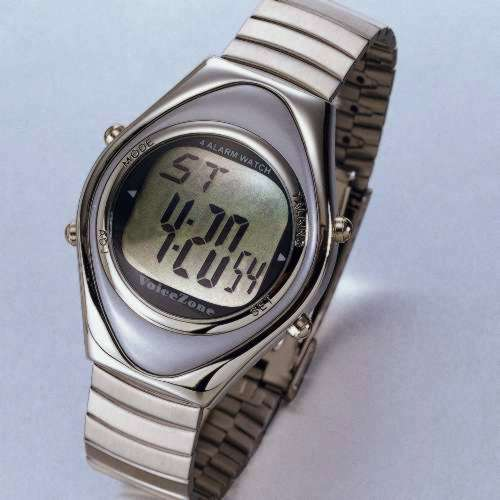 4-Alarm Talking Watch