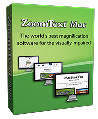 ZoomText Mac Box