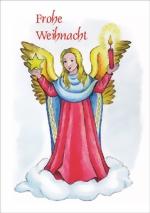 taktile Glückwunschkarte: Engel