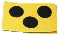 Verkehrsschutz - Armbinde, elastisch, Umfang: 28cm