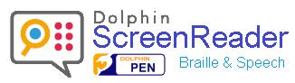 Dolphin ScreenReader USB 20.0» Sprachausgabe und Brailleunterstützung