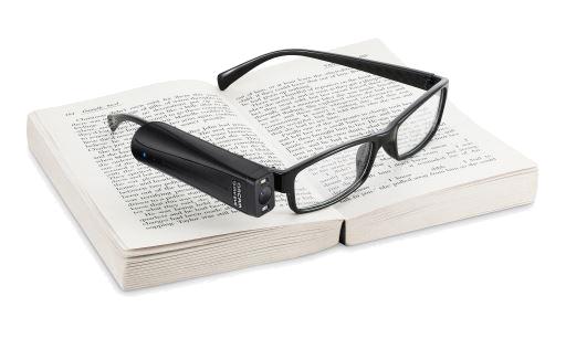 OrCam MyReader 2.0: Vorlesen von jeder Oberfläche - leichter denn je - Inteligente Mini-Kamera