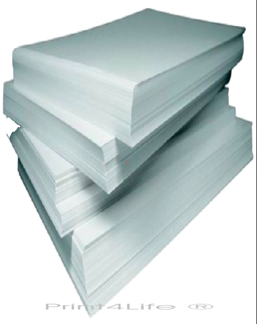 Punktschriftpapier, 240x305mm (A4), 170g, Endlos für Drucker, perforiert, Karton mit 1000 Blatt