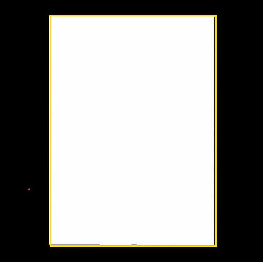Braille-A4-Folien, Einzelblatt, selbstklebend, weiß
