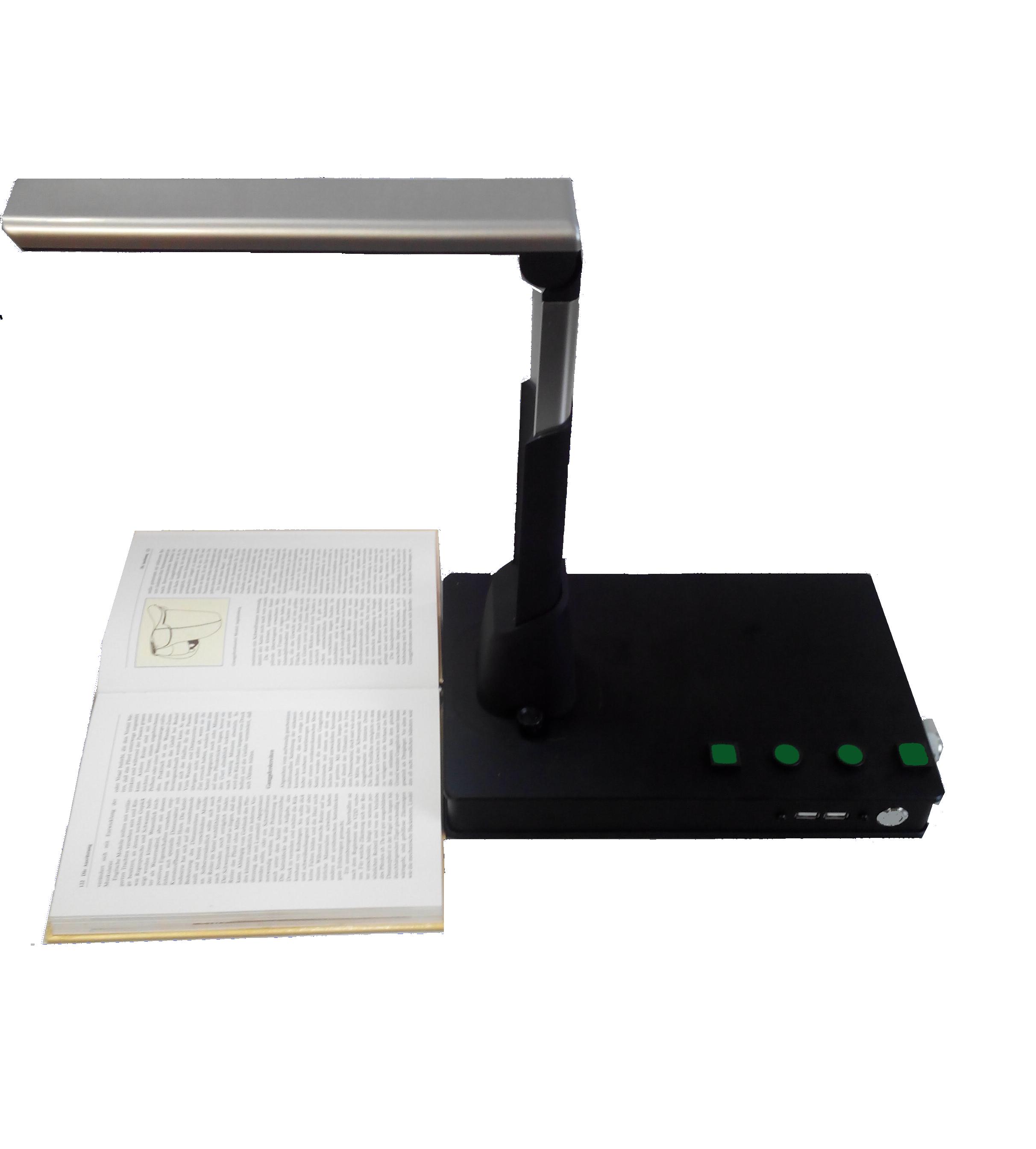 Adebar: Textlesesystem mit Dokumentenkamera