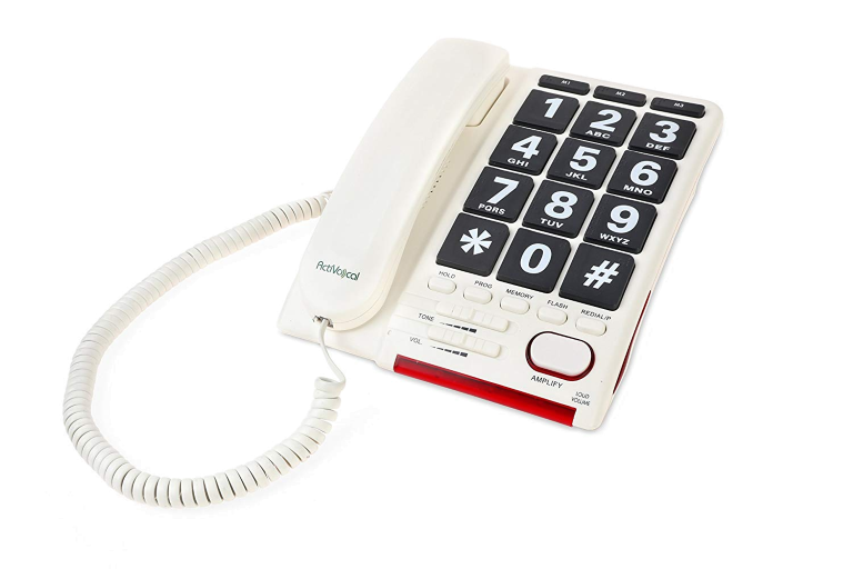 AmpliTalk 100, Festnetztelefon mit Sprachsteuerung
