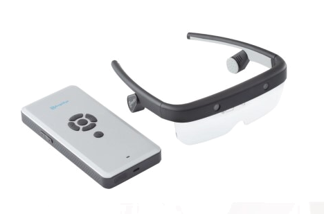 AngelEye® SmartGlasses: Vorlese- und Orientierungsbrille für Blinde