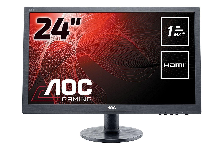 24 Zoll AOC Monitor mit ultraschneller Reaktionszeit von 1ms