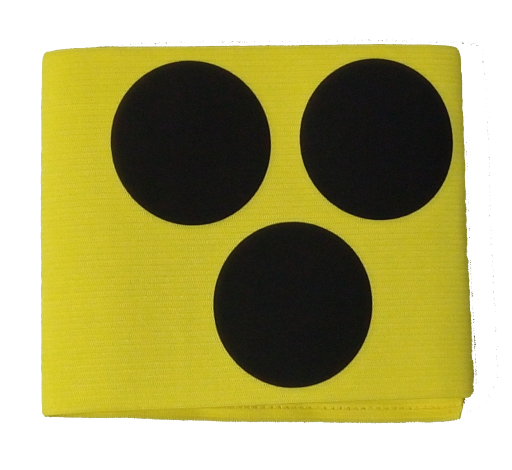 Verkehrsschutz - Armbinde, elastisch, Umfang: 35cm mit Klettverschluss