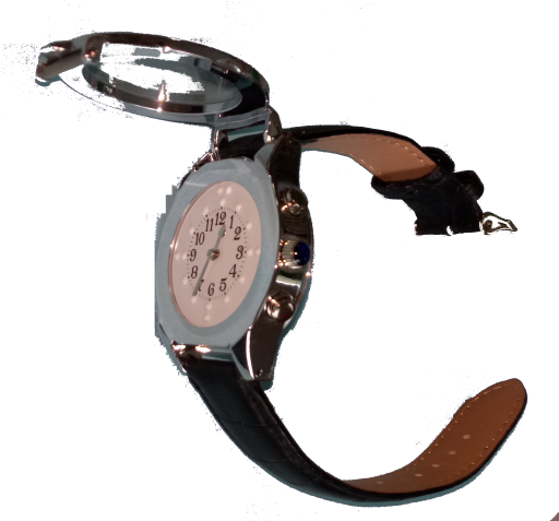BrailleTalker - taktile Armbanduhr mit Sprachausgabe