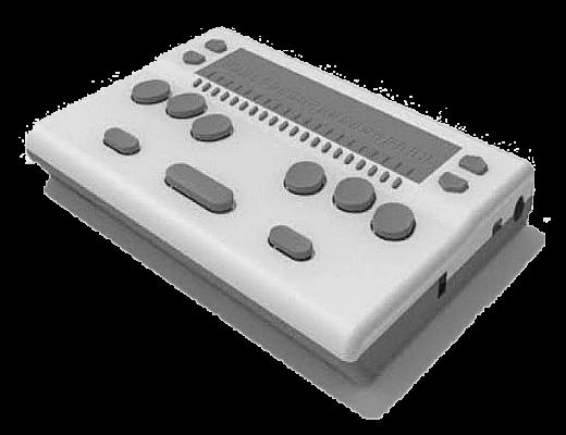 BrailleMe: Braillenotizgerät mit 20 Moduln, Cursorrouting und Kurzschriftübersetzung