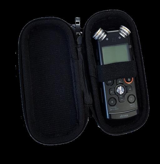 Schutztasche für Eltrinex V12Pro und andere Diktiergeräte