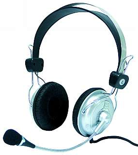 Stereo-Headset SC-800 mit Lautstärke-Regler