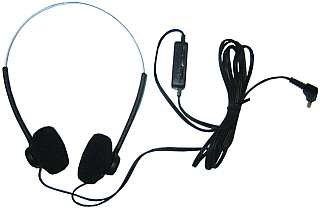 Kopfhörer 'TV-733' mit Lautstärkeregler