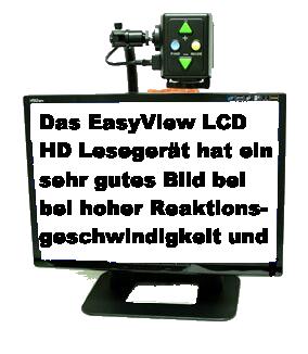 Bildschirmlesegerät EasyView LCD 22, das flexible Kameralesesystem mit 22 Zoll LCD