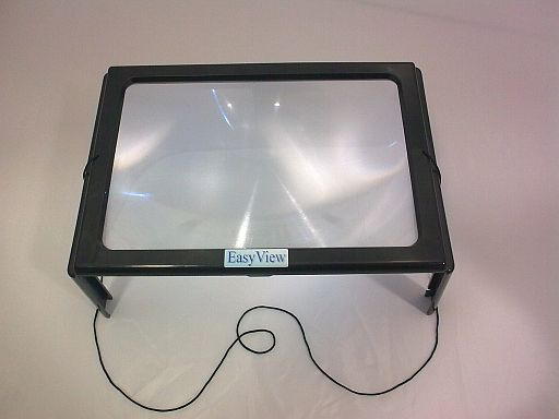 EasyView Standlupe mit LED Beleuchtung