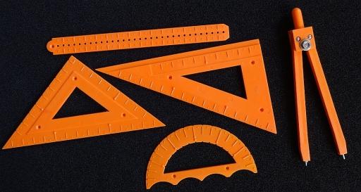 taktiles Geometrie-Set klein
