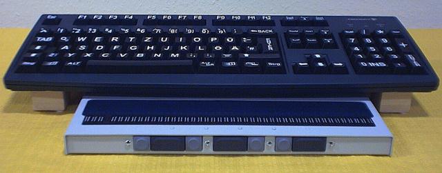 BRZ: InfoDot 40 ps - die vielseite Braillezeile