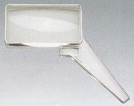 Bikonvexlupen – Leseglas mit Zusatzlinse 2x + 5x