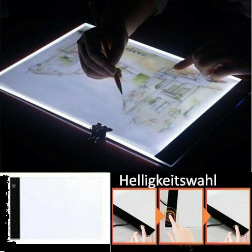 EasyView Lichtboard, dimmbar A4 zum Zeichnen und Lesen