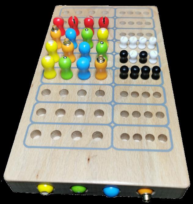 Taktiles Master Logic für Blinde, für 2 Spieler