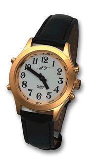 sprechende Herren-Armbanduhr mit Analoganzeige S/L