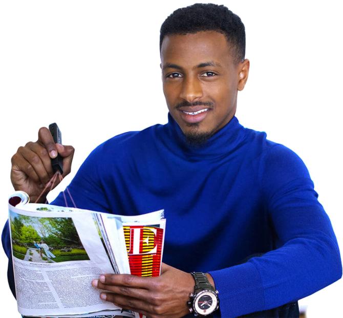 OrCam Read in der Hand