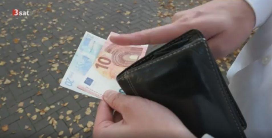 Geldscheinansage