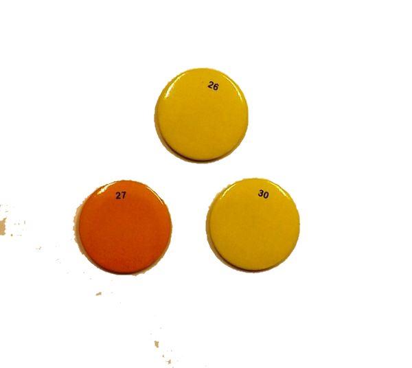 Zusatzetiketten Pack M1, Magnetclip