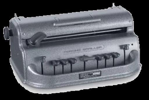 Perkins Brailler, die Punktschriftmaschine (Standard)