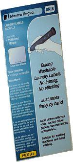 PenFriend Wäsche-Etiketten - Reisegepäck-Etiketten
