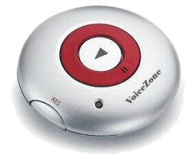 Memorecorder UFO, mit Magnet, 10 Sekunden