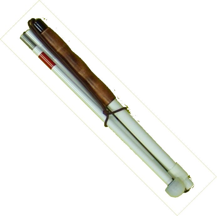 Langstock Kombistock 4-teilig, Aluminium, Neoprengriff
