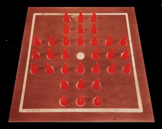 taktiles Solitaire-Spiel für Blinde, für 1 Spieler