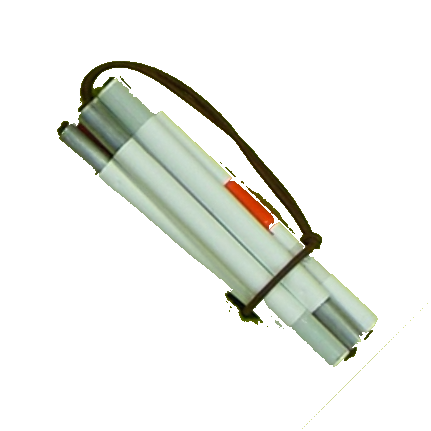 Signal- Taststock 7-teilig, Faltstock-, Aluminium