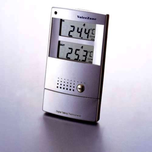 sprechendes Innen-/Außen-Thermometer
