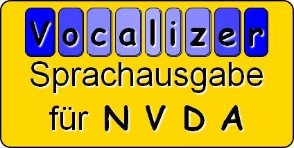 Vocalizer SprachausgAbe (TTS) für NVDA