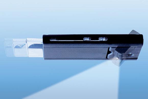 Lupe mit integriertem LED Licht 3x