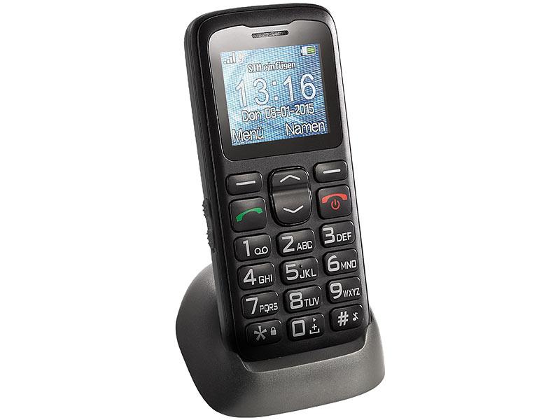 Mobiltelefon Seniorenhandy XL-915-V2 mit Garantruf