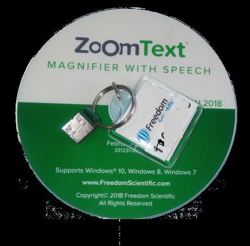 Logo ZoomText USB