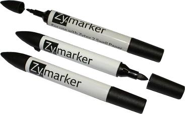 Zytex2 - Schwellpapier DIN A3